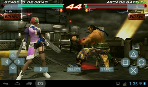 tekken android apk tekken 6 for android v4 0 apk free