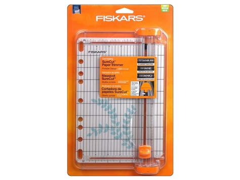 Paper Trimmers For Card - fiskars surecut card paper trimmer 9 in ebay