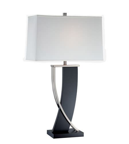 30 inch table ls lite source ls 21788 estella 31 inch 23 watt walnut