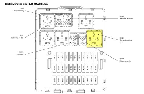 ford focus fan fuse 2009 ford focus starter relay location wiring diagrams