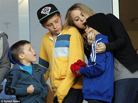 romeo beckham where does he live romeo beckham grabs a female friend by the throat and