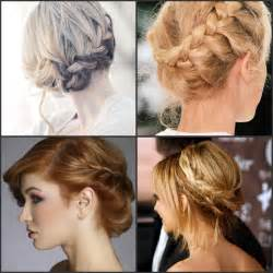 By step guide to do the braided wedding hairstyle updo bride sparkle
