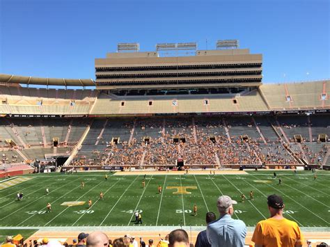 section v org tennessee football neyland stadium seating chart