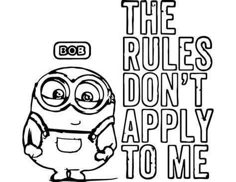 Coloring Pages Minion Coloring Pages Bob Designs Canvas Pictures Into Coloring Pages