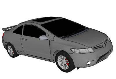 A Light Year Sketchup Components 3d Warehouse Cars 2006 Honda Civic Si