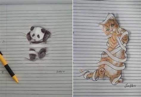 sketch book quaderni graziosi disegni di animali che non vogliono stare tra le