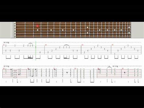 video tutorial gitar one last breath one last breath creed tutorial guitar pro