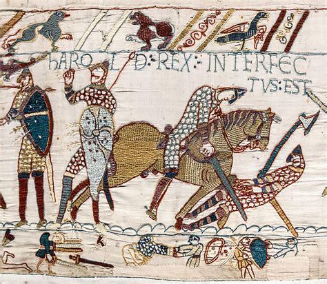 Tapisserie De Bayeux Description by File Bayeux Tapestry Scene57 Harold Jpg Wikimedia