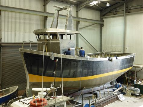 commercial fishing boat builders uk padstow boatyard uk boat builders custom manufacture