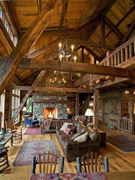 cabin style 47 extremely cozy and rustic cabin style living rooms