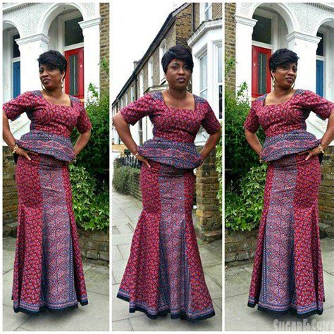 latest ankara mixed with velvet 2015 ankara skirt and blouse style http www dezangozone com