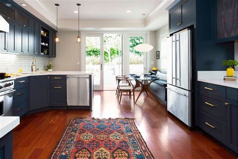 Blue Kitchen Rug by Blue Kitchen Rug With Navy Blue Kitchen Kitchen Farmhouse And