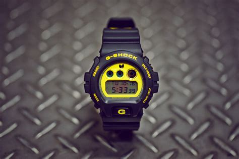 G Shock Wu Tang Wu Tang X Casio G Shock Dw 6900 A Closer Look Hypebeast