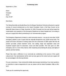 fundraising letter template 7 free word pdf documents