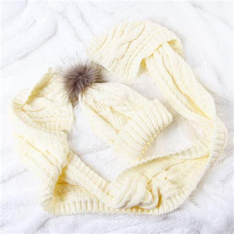 Jual Winter Syal Topi Rajut Scarf Wool Musim Din0612 perlengkapan musim dingin syal rajut ready stock topi rajut ready stock baju korea baju