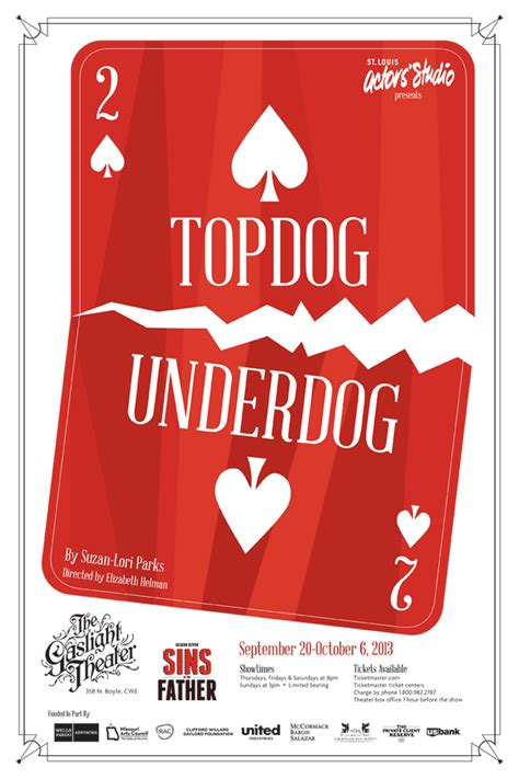 top underdog top underdog nominated for two st louis theater circle awards