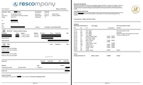 agency template invoice template travel agency rabitah net