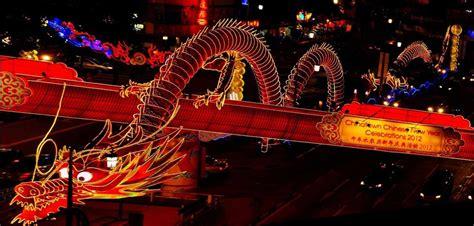 cinese a arriva la sfilata per il capodanno cinese a