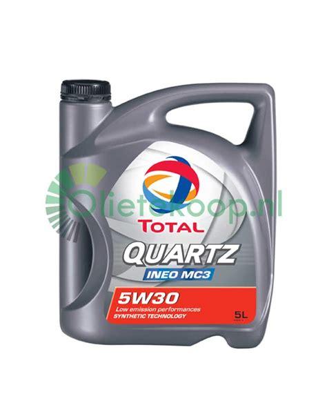 Dijamin Oli Total Sae 5w30 Api Sn Ineo Mc3 Dexxos 2 Literan Murah 5 liter total quartz ineo mc3 5w30 olietekoop nl