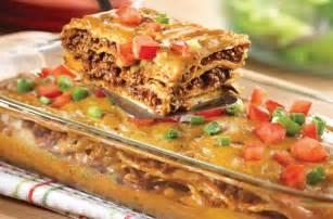 easy weeknight dinner cheesy mexican casserole tugta