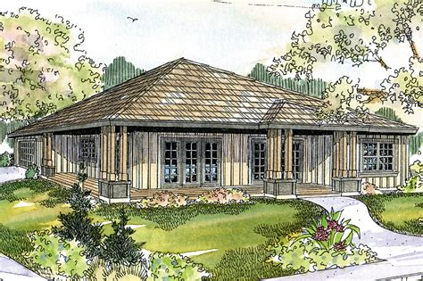 Prairie Style by Prairie Style House Plans Sahalie 30 768 Associated