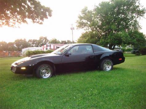 Pontiac Firebird Rims by Sell Used 1984 Pontiac Firebird Trans Am Black American