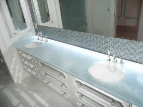glass bathroom sinks countertops glass countertops for bathrooms by cgd glass cgd glass