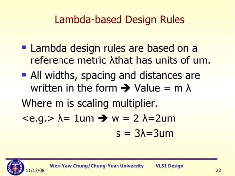 layout design rules in cmos technology lect5 stick diagram layout rules