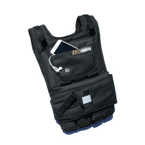 weight vest zfo sports 174 60lbs adjustable exercise fitness weighted vest ebay