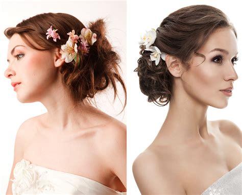 fiori capelli sposa acconciature sposa capelli raccolti foto e look piu belli