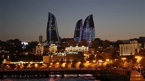 baku azerbaijan september  stock footage video