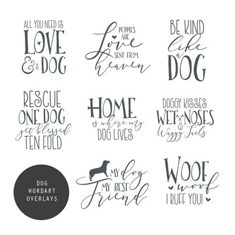 puppy synonym word overlays