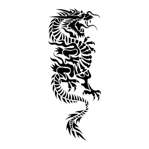 black dragon tribal tattoos tribal tattoos zimbio free