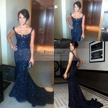 Macy Duvet Covers Aliexpress Com Buy Vestido De Festa Elegant Navy Blue