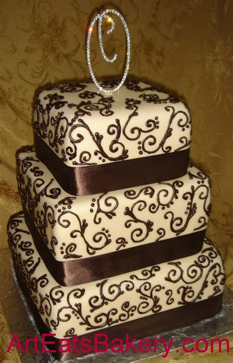 Custom Wedding Cake Designs by Bold Custom Unique Cake Wedding Cake Designs Arteatsbakery