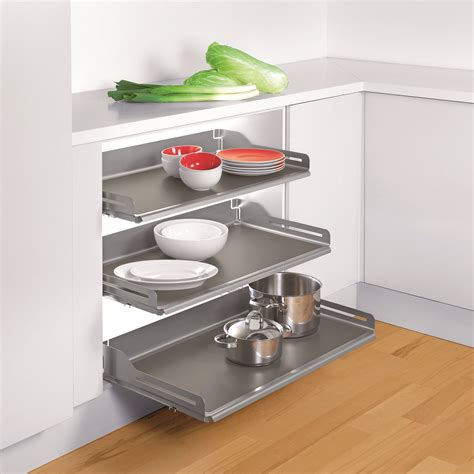 Pull Out Shelf by Pull Out Shelf System Maximizes Space Woodworking Network