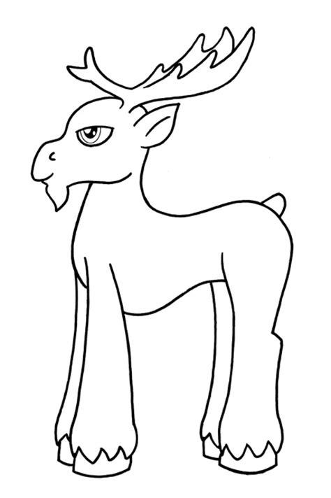 mlp moose template by deckerspade on deviantart