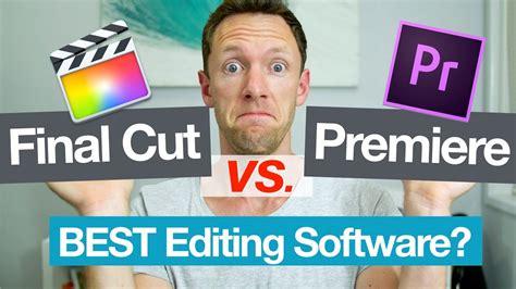 final cut pro vs adobe premiere final cut pro vs adobe premiere best video editor youtube