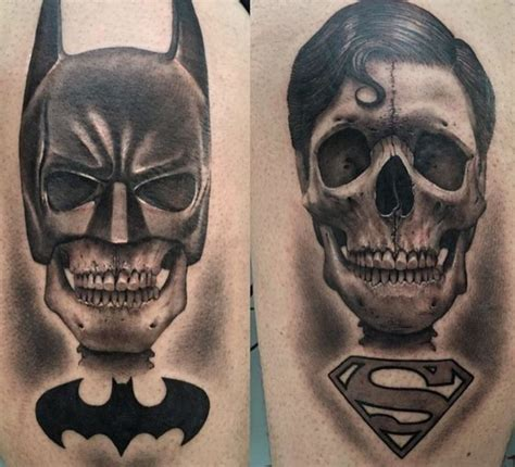 batman head tattoo 22 best mejores tatuajes de batman images on pinterest