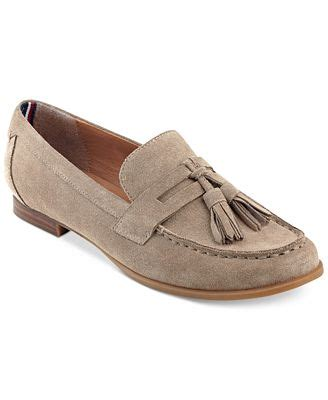 loafers macy s hilfiger sonya tassel loafers flats shoes macy s