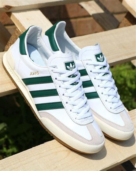 adidas mk2 trainers white green 80s casual classics