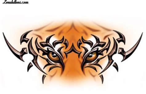 imagenes para dibujar tattoo dise 241 o de tigres tribales animales