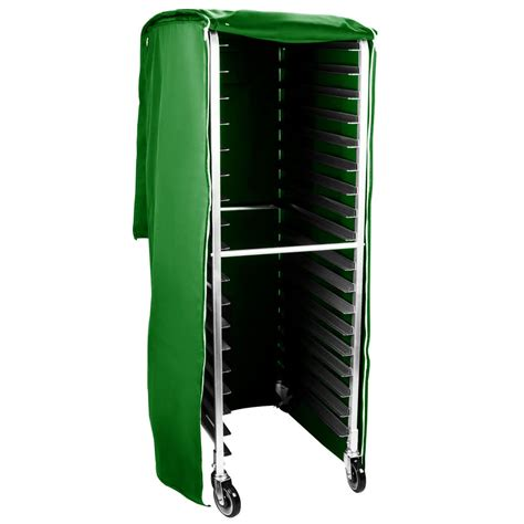 Bun Rack Cover by Curtron Supro Ic Insul Cover Insulated Bun Pan Rack Cover Green