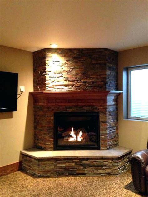 corner unit gas fireplace insert corner vented gas fireplace imposing direct vent unit