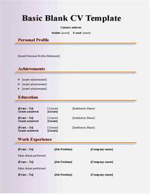 basic cv templates for 16 year olds resume template