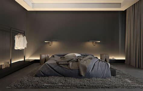 perfekte schlafzimmer farbe stilvolle schlafzimmer mit schwarzer wand dekorieren mit