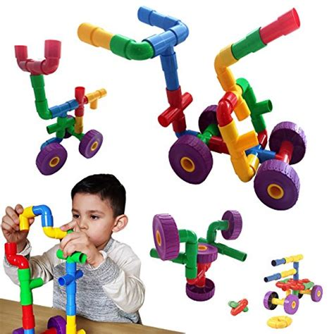 30 best toys for 3 skoolzy toys 30 pc pipe joint construction sets import it all