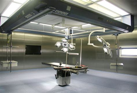 Laminar Flow Ceiling by Medglas 174 Ceiling Medik Hospital Design Gmbh Medik