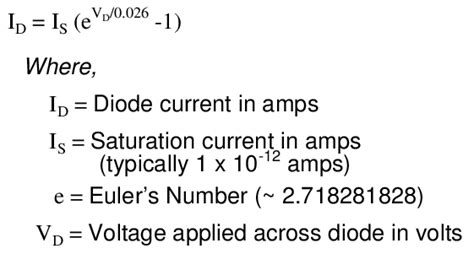 current equation for diode introduction to diodes and rectifiers diodes and rectifiers electronics textbook