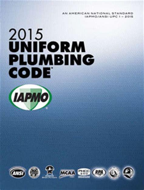 Upc Plumbing Code 2015 plumbing code upc softcover